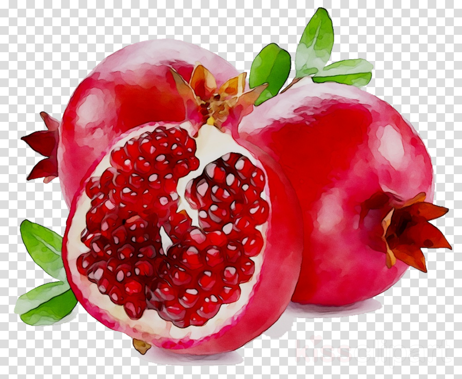 Pomegranate clipart pomegranate seed. Strawberry cartoon fruit juice