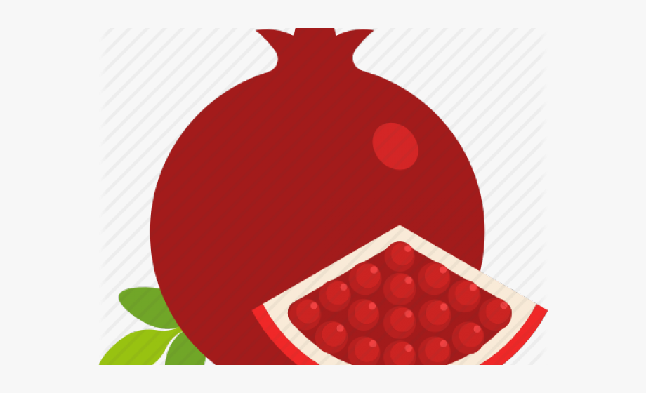 Seed png . Pomegranate clipart slice