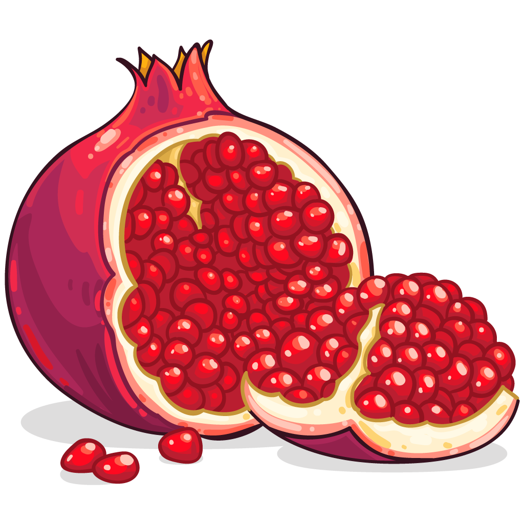 Tomatoes clipart anaar. Icon free download pomegranate