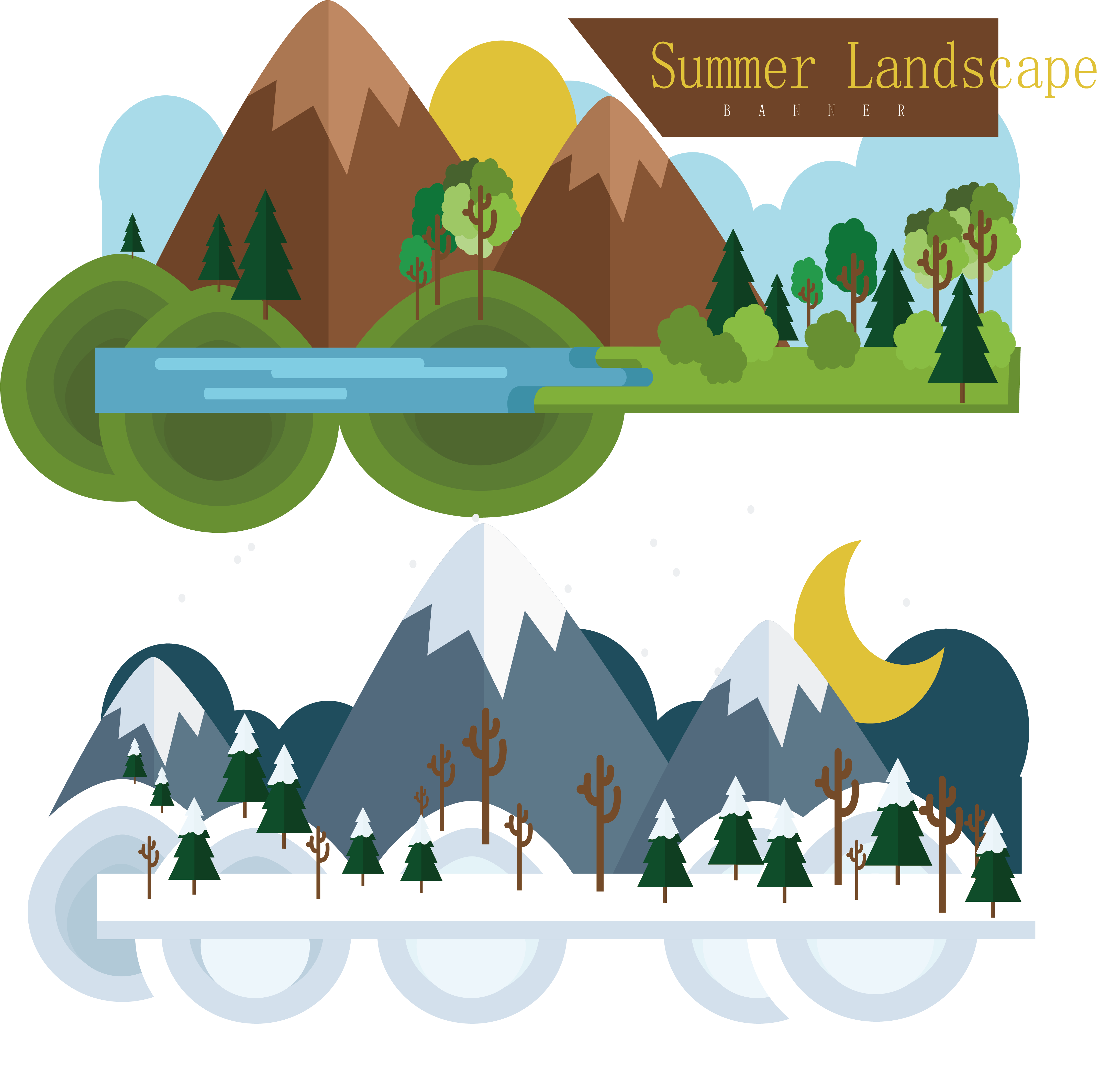 Summer illustration the and. Pomegranate clipart winter