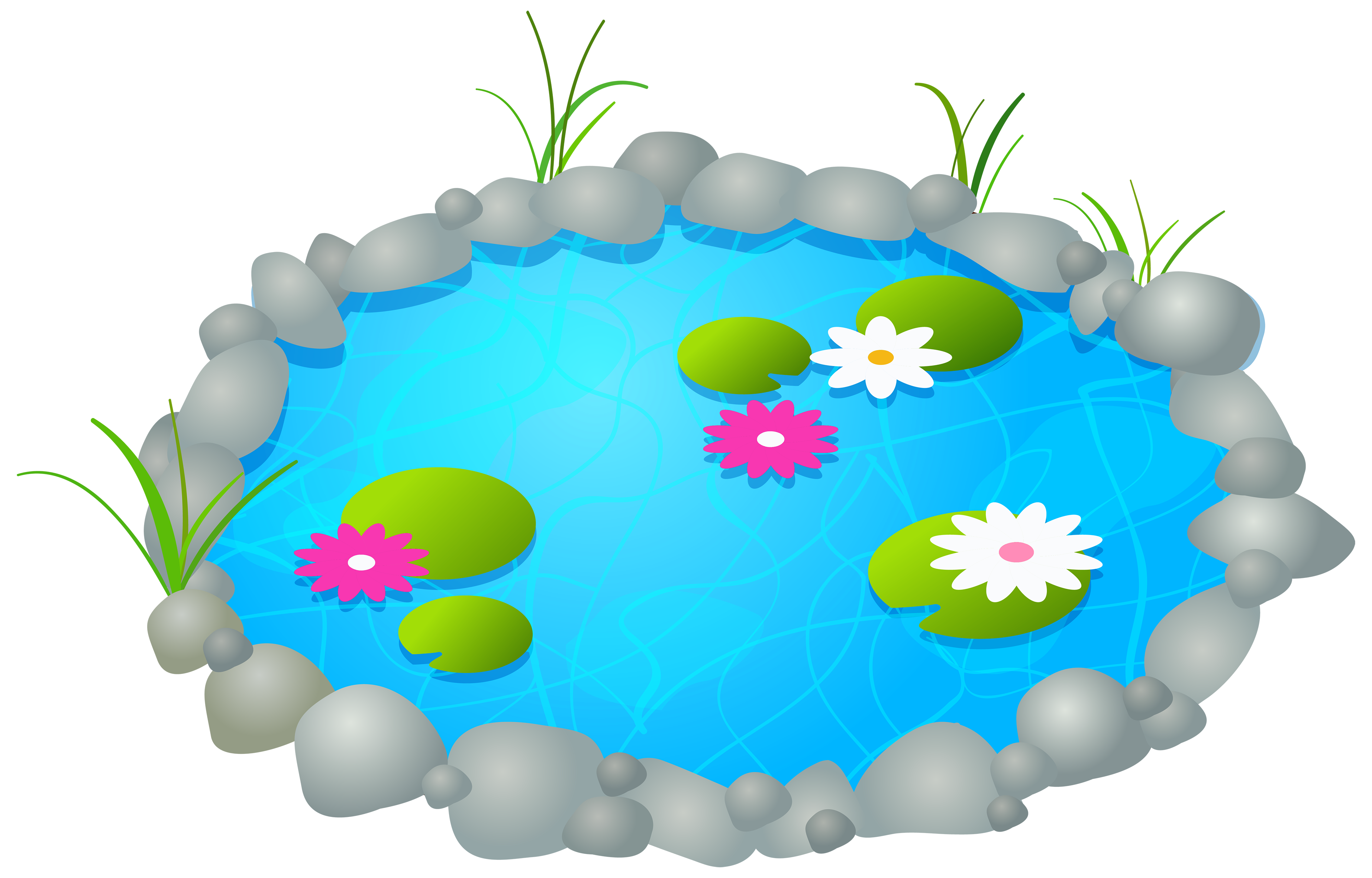 Garden clipart easter. Pond png best web