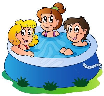 Pool clipart. By the