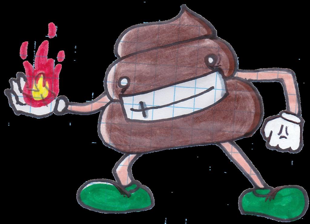 Mr by berleon on. Poop clipart doodle