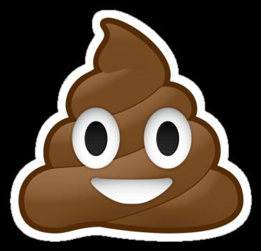 Emoji png stickpng . Poop clipart transparent background