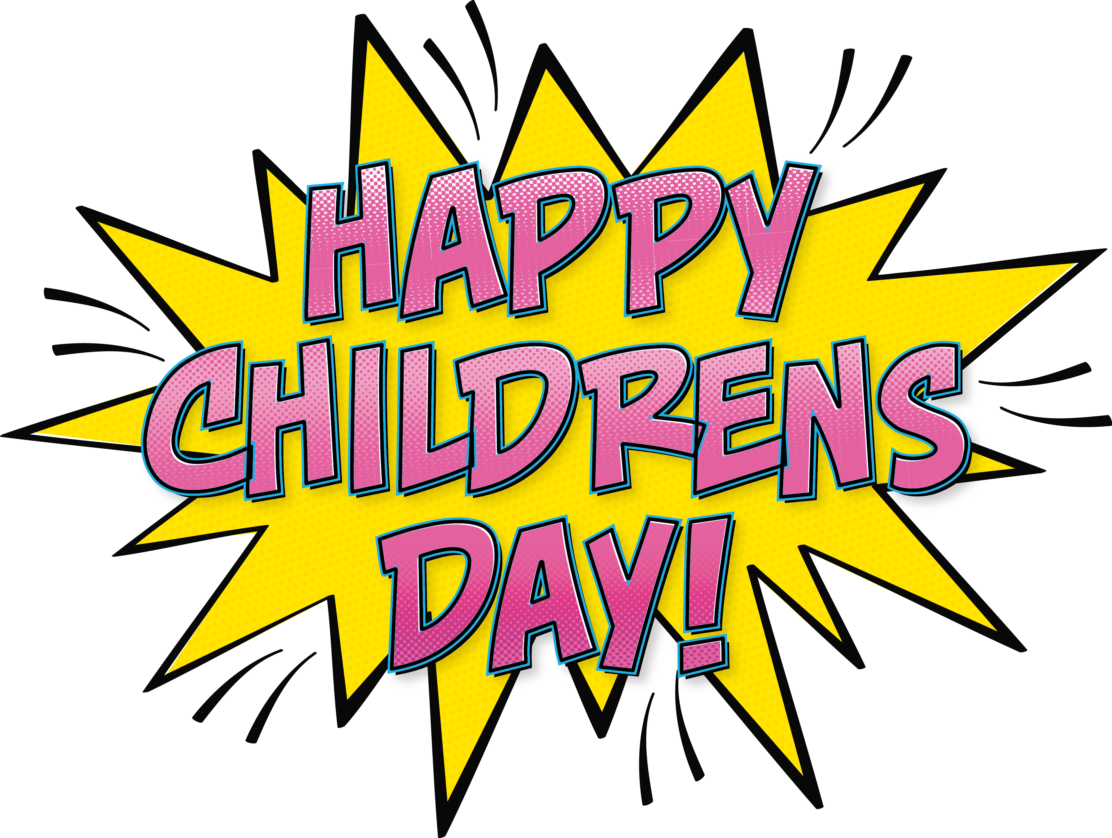 Children s day comics. Pop clipart balloon pop