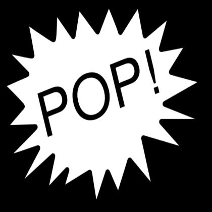 Pop clipart balloon pop. Hi roblox