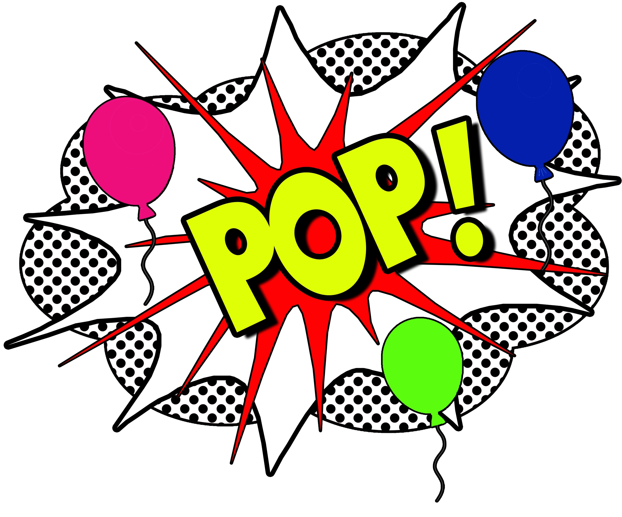 Pop clipart balloon pop. We make your events