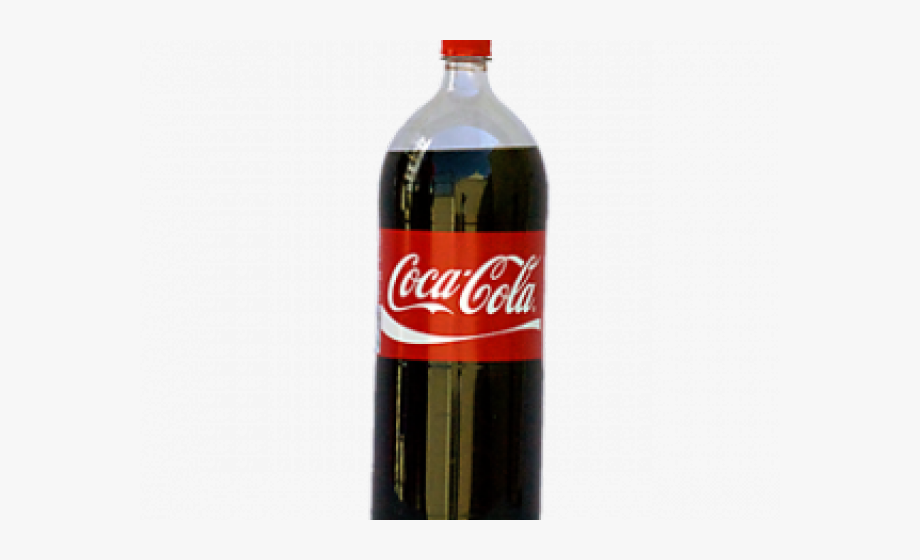 Pop clipart coke. Cocacola plastic soda bottle