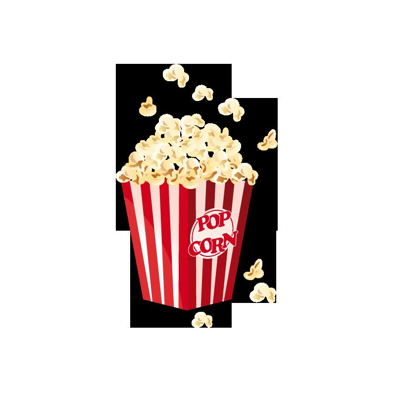 Pop clipart snack. Popcorn film cinema corn