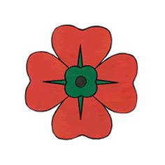 Poppy clipart. Remembrance day free cliparts