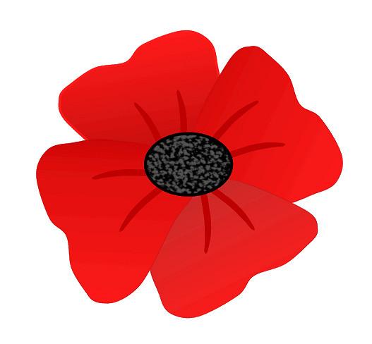 Poppy clipart. Red flower clip art