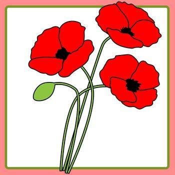 Poppy clipart anzac poppy. Memorial day lest we