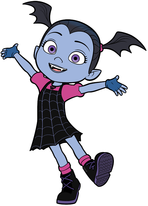 Poppy clipart cartoon. Vampirina clip art disney