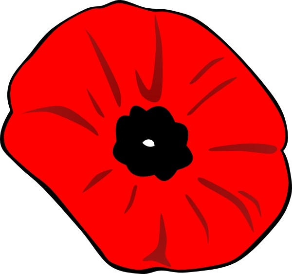 Poppy clipart free vector. Remembrance day clip art