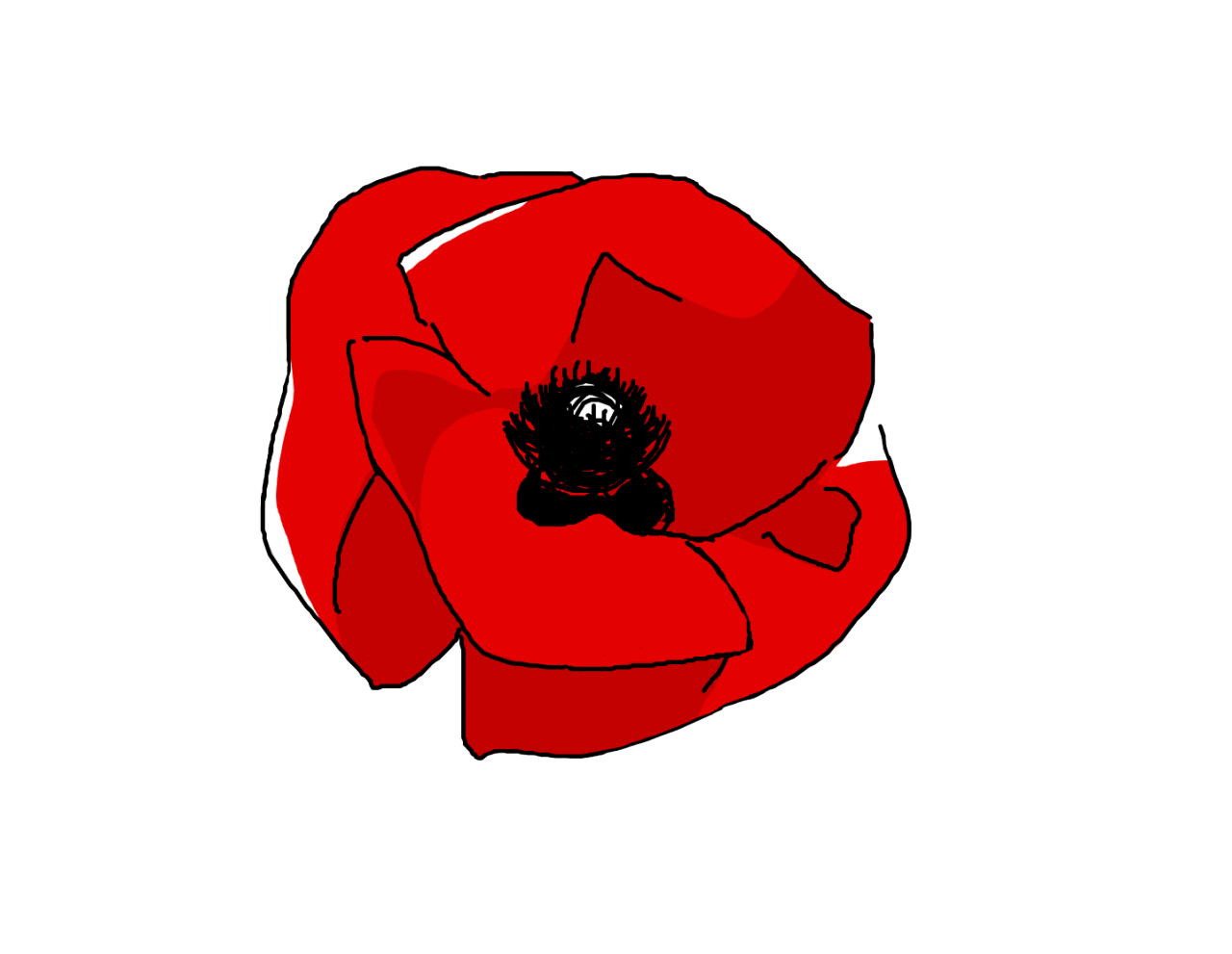 Tamabooty transparent for your. Poppy clipart lest we forget