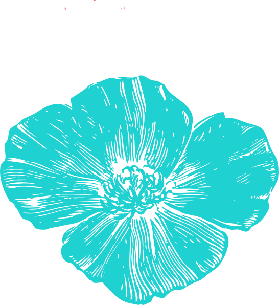 Blue Poppies Clip Art at Clker.com - vector clip art online, royalty ...