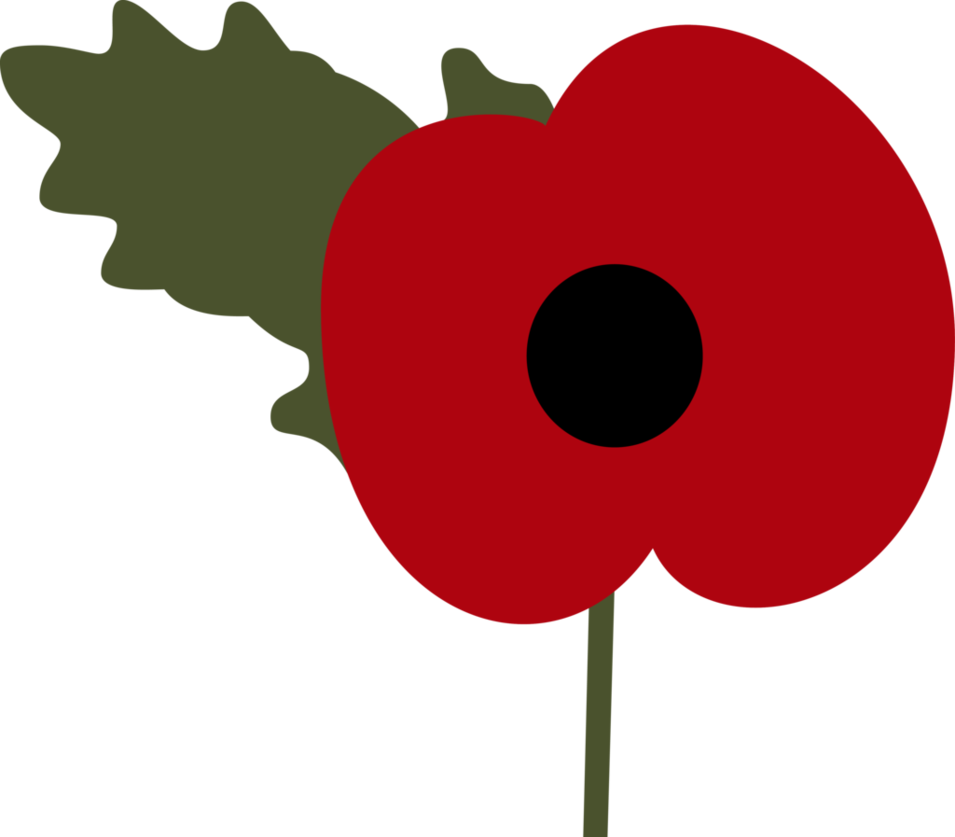 Poppy clipart remembrance day. By itv canterlot on