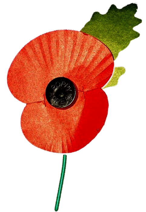 Parade service sandbach town. Poppy clipart remembrance day