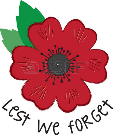 Station . Poppy clipart remembrance day