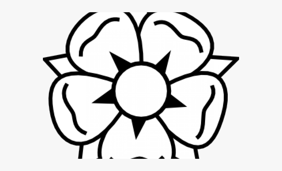Poppy clipart simple. Flowers black and white