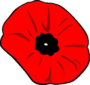 Poppy clipart single poppy. Remembrance day clip art