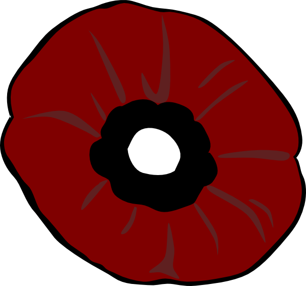 Poppy clipart small. Plain clip art at
