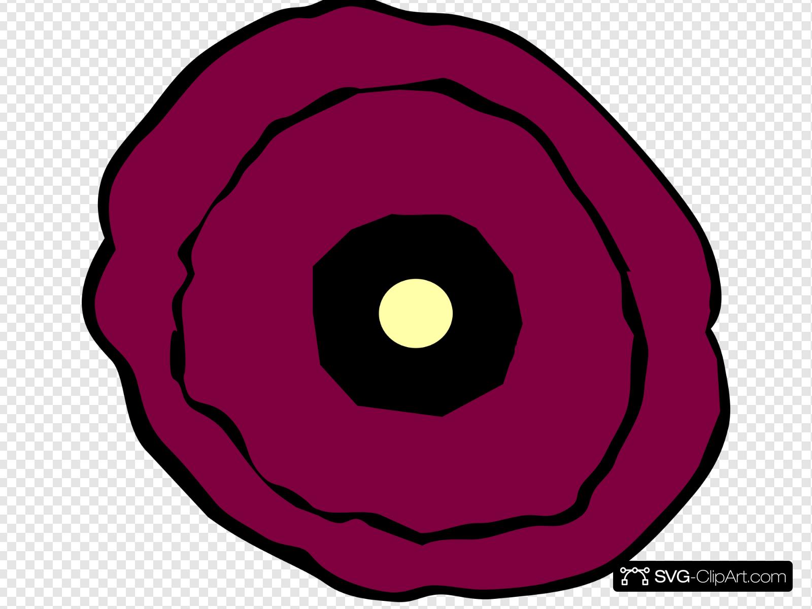 Poppy clipart svg. New layered clip art