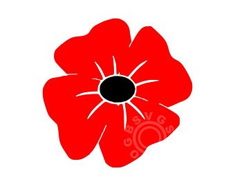 Poppy clipart svg. Etsy