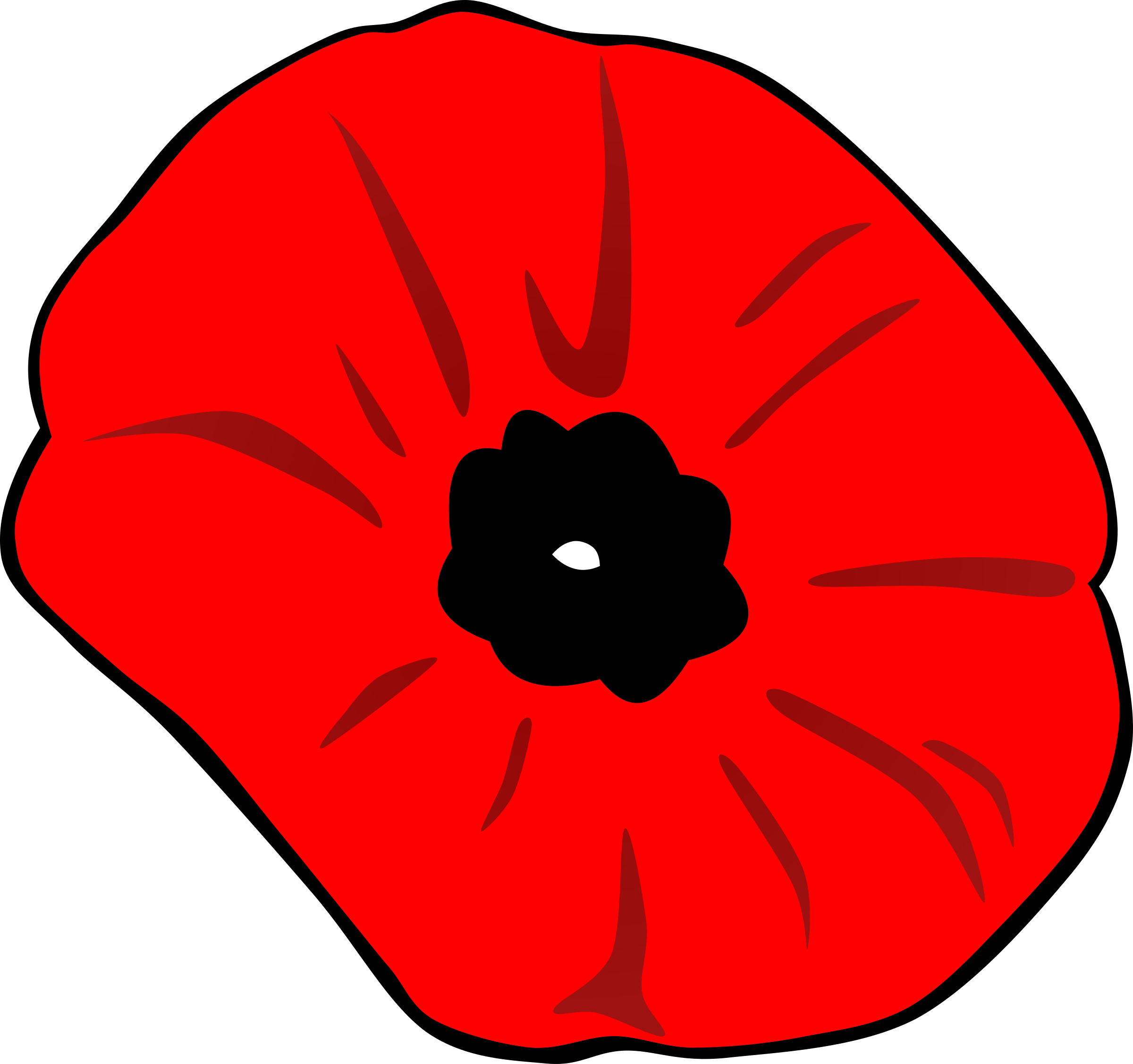 collection of no. Poppy clipart three