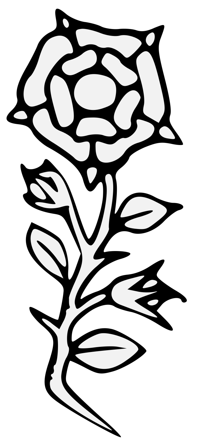 Roses group rose heraldic. Poppy clipart traceable