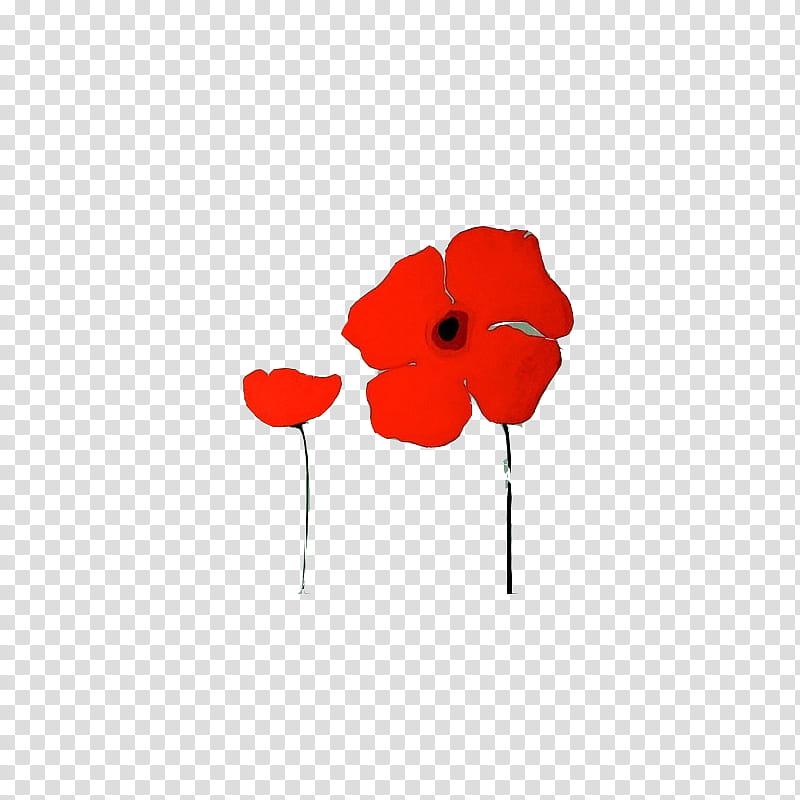 Red flower illustration transparent. Poppy clipart two