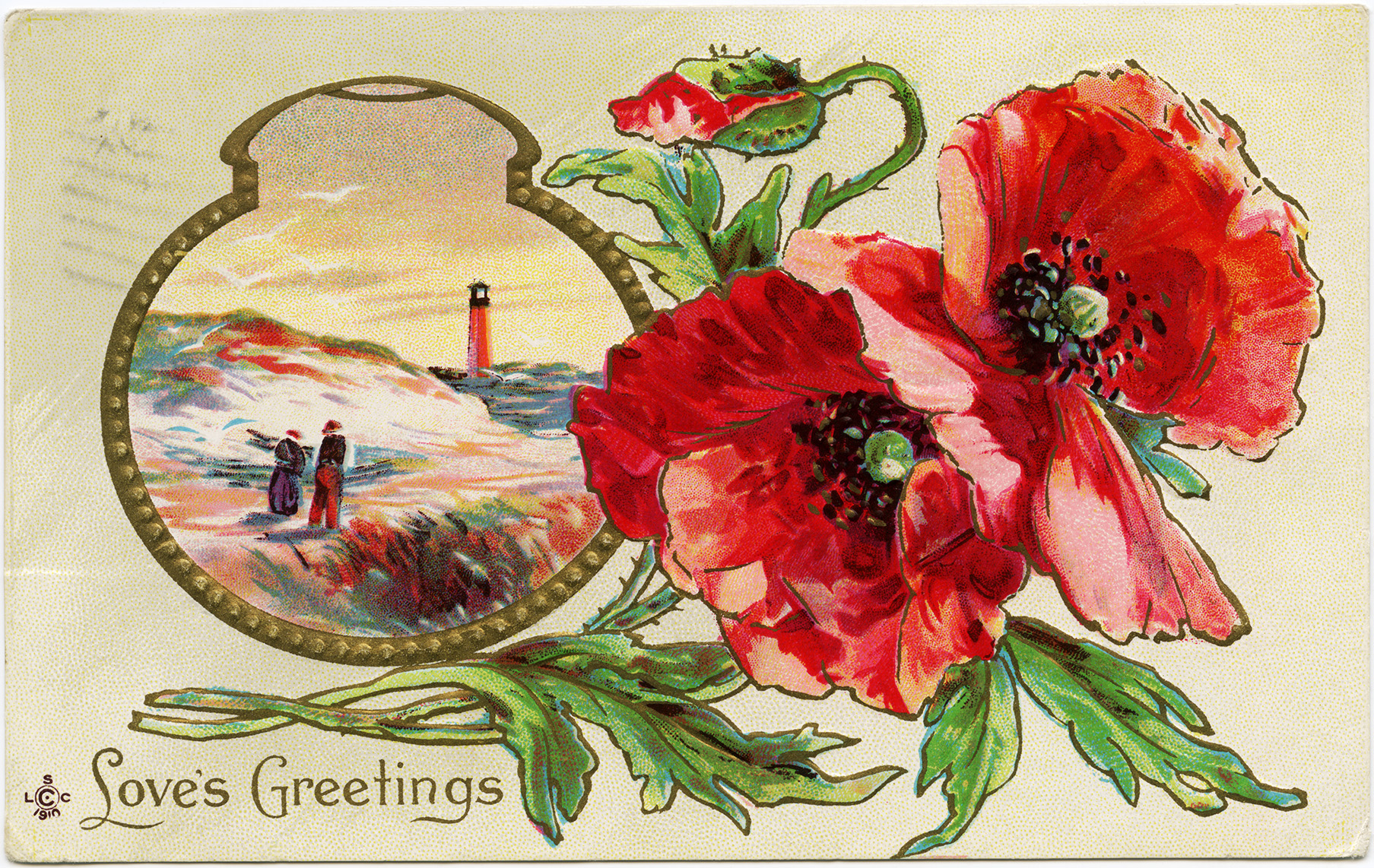 Poppy clipart vintage. Free image love s