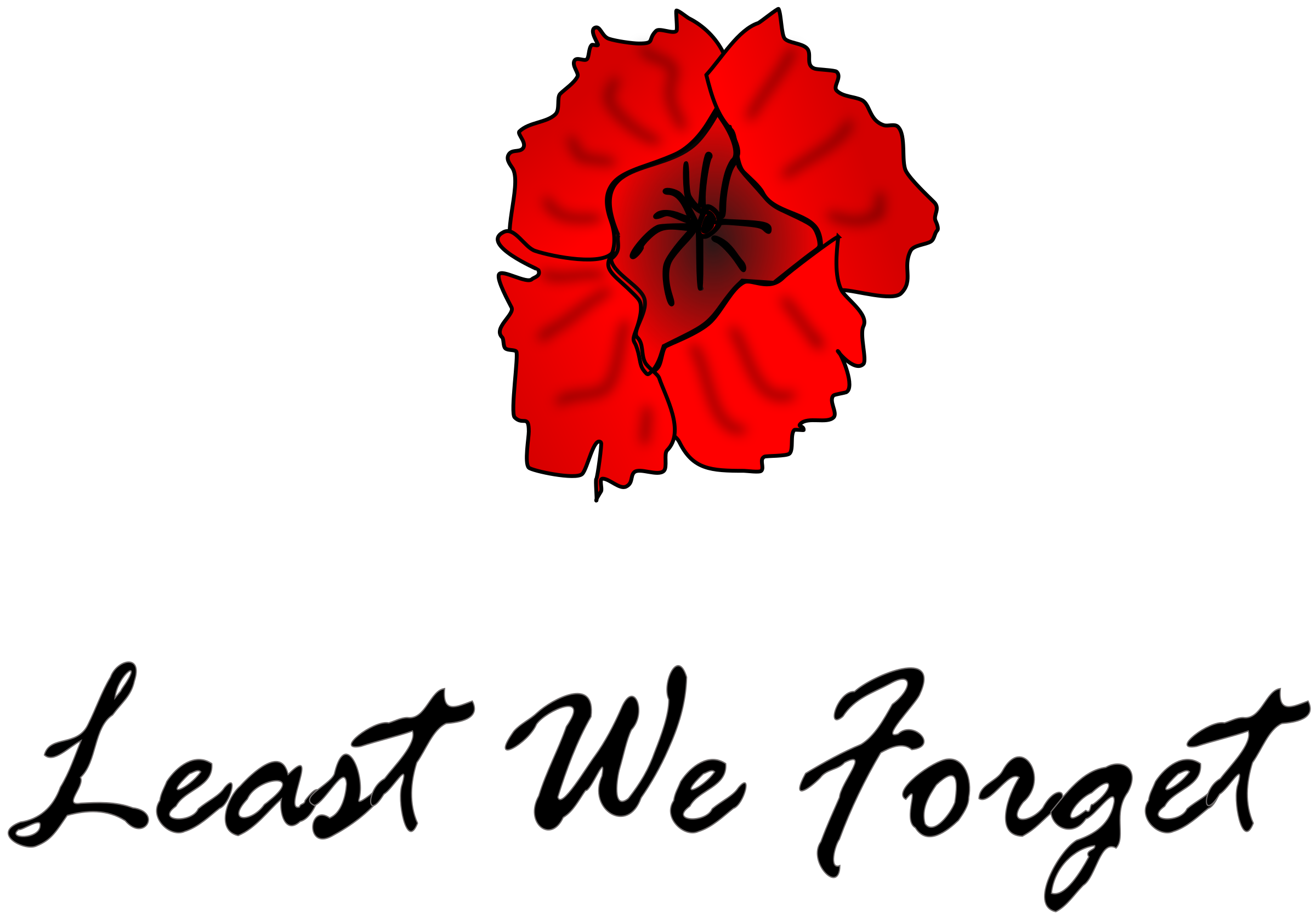 Poppy clipart ww1. Remembrance day big image