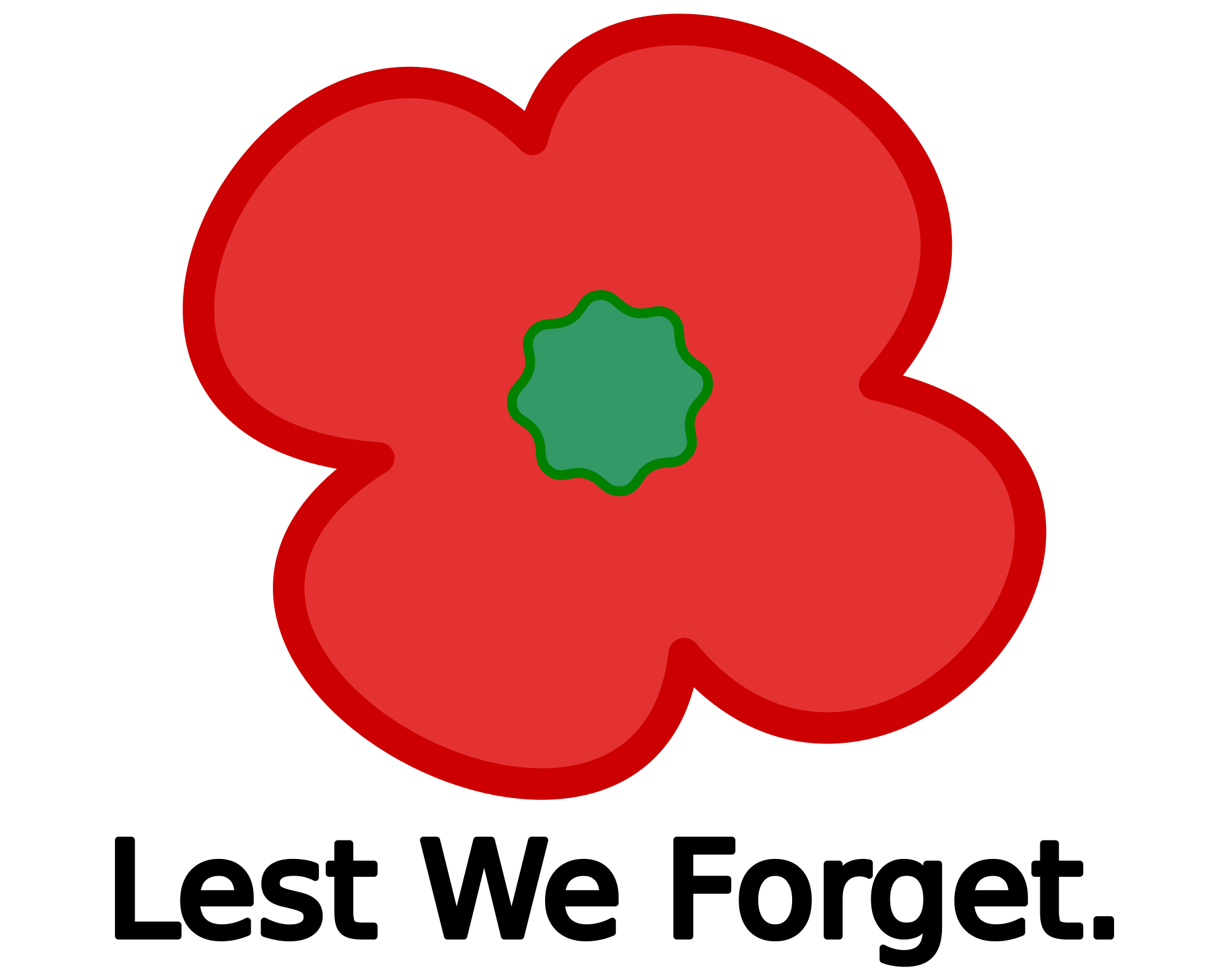 Poppy clipart ww1. File svg wikimedia commons