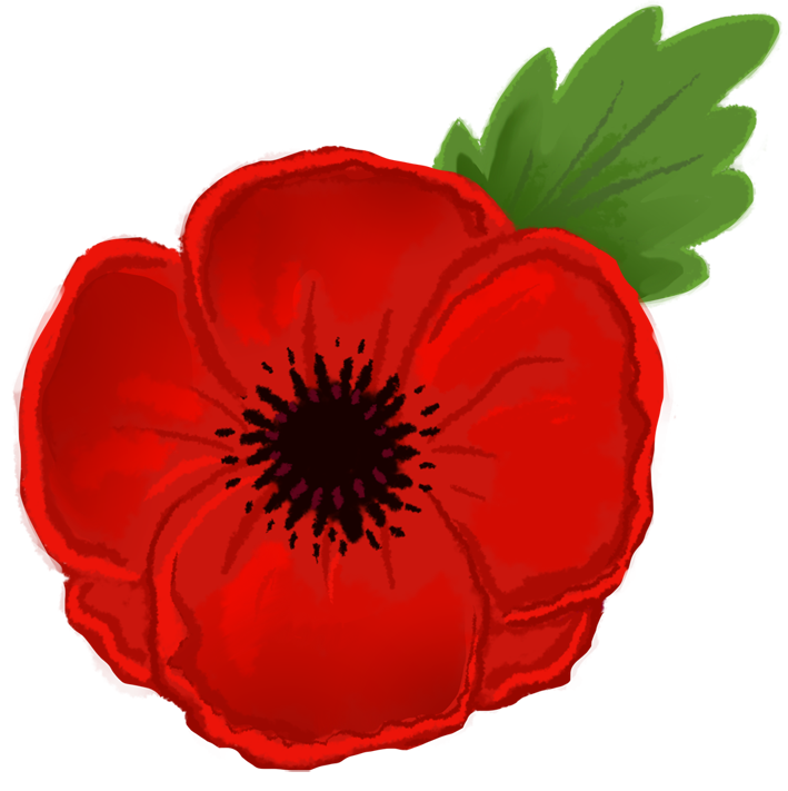 collection of remembrance. Poppy clipart ww1