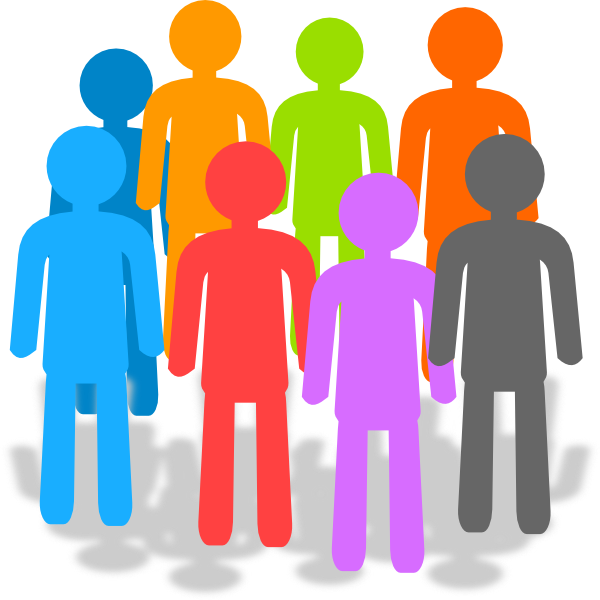 Population clip art at. Employee clipart introduction