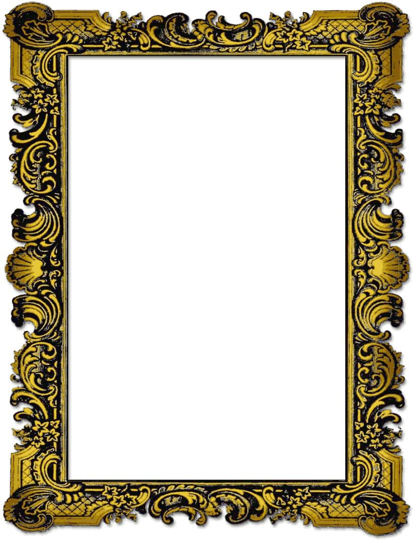 Collage transparent images all. Portrait frame png