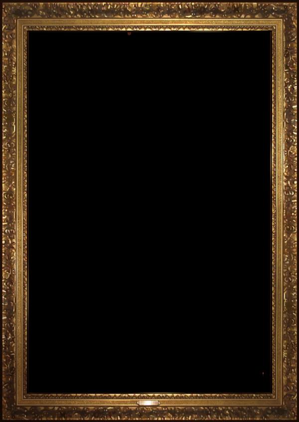 Umineko render hd by. Portrait frame png