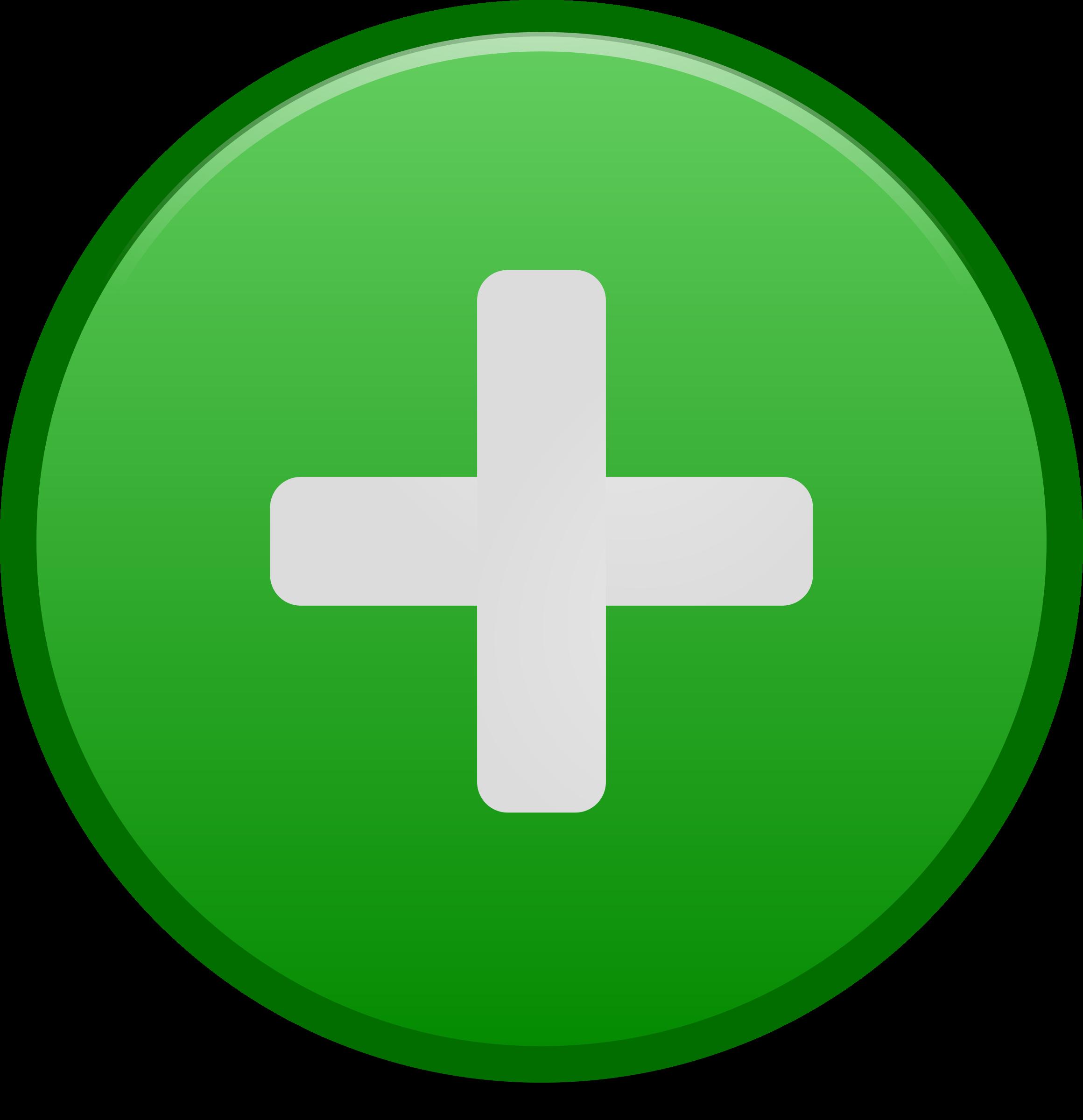 Emblem icon big image. Positive clipart