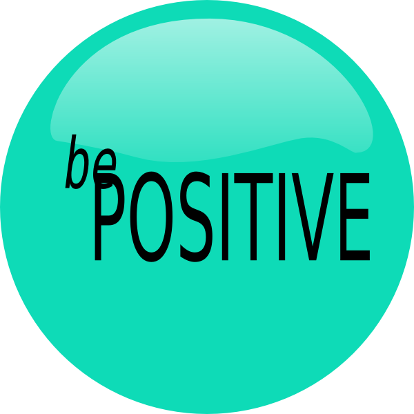 Positive clipart. Be clip art at