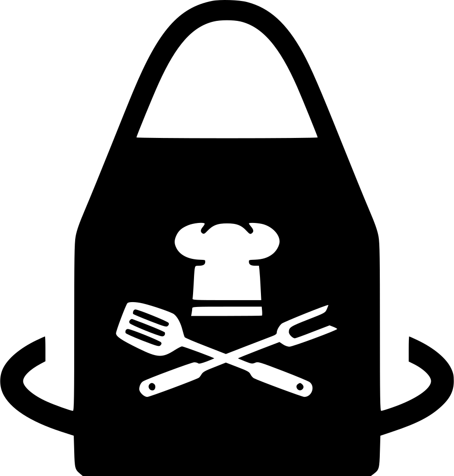 Chefs apron svg png. Positive clipart correctness