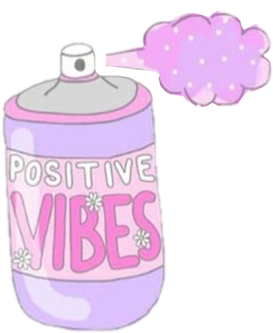 Tumblr girl pink vibes. Positive clipart positive graph