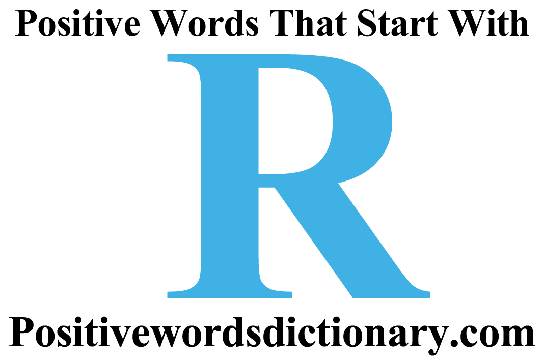 Positive clipart positive word. R words top crush