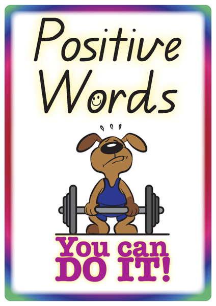 Positive clipart teacher help.  words and phrases