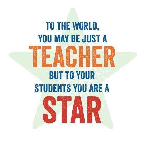 Positive clipart teacher motivation. To the world you