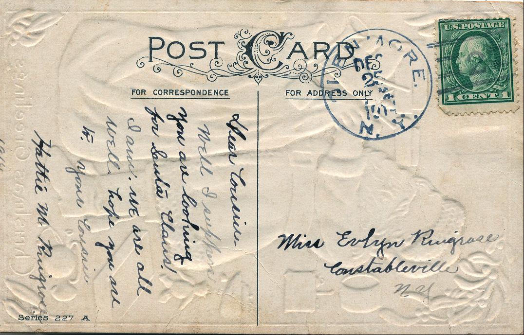 Postcard clipart. Free vintage clip art