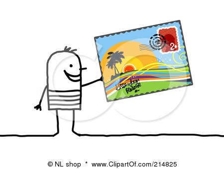 Sing my life keep. Postcard clipart