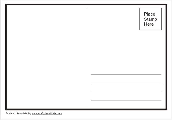Template item panda free. Postcard clipart