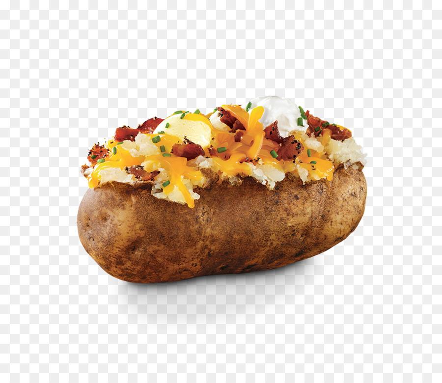 French fries food menu. Potato clipart baked potato