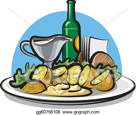 Potato clipart boiled potato. Vector stock potatoes illustration